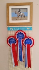 Horse Rosette Holder, Photo Frame Rosette Holders, rosette holder, Horse riding rosettes